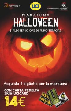 maratona halloween