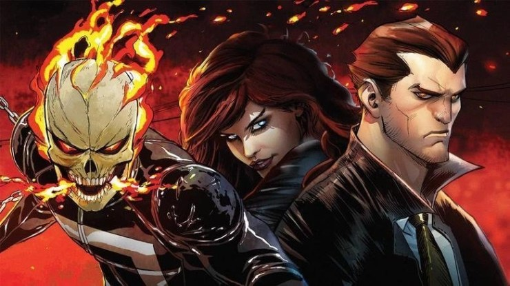 Marvel Is Bringing 'Ghost Rider' and 'Helstrom' Series to Hulu