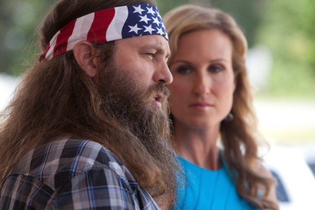 Duck Dynasty star Willie Robertson lends his reality TV fame to the big screen in God's Not Dead. Courtesy of Pure Flix Entertainment