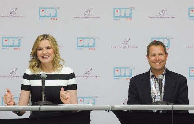 BENTONVILLE, AR - MAY 04: BFF Co-Founder Geena Davis and BFF Co-Founder Trevor Drinkwater attend Geena Davis' 2nd Annual Bentonville Film Festival Championing Women And Diverse Voices In Media - Day 2 on May 4, 2016 in Bentonville, Arkansas. (Photo by Ernesto Di Stefano Photography/Getty Images for Bentonville Film Festival)