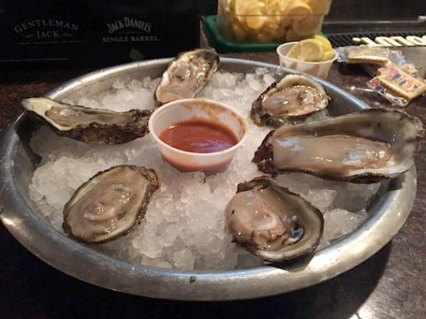 Oysters at Felix's
