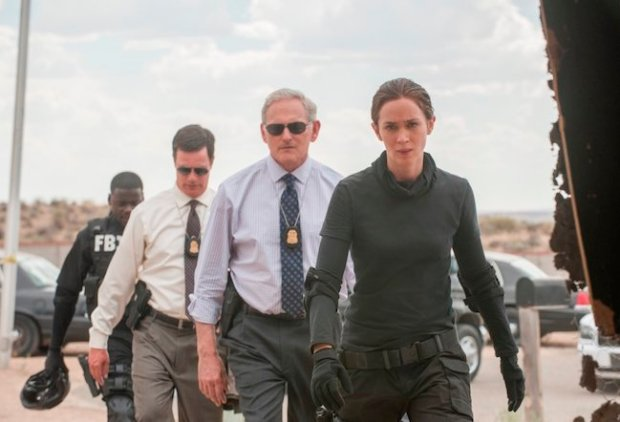 Caption: Emily Blunt as the in-over-her-head FBI agent Kate Macer