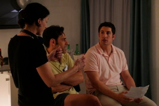 Jason Biggs (right) stars as Guy Carter in Amateur Night