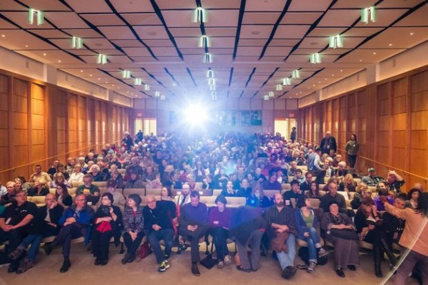 Crowds fill the theater for PIFF's opening night