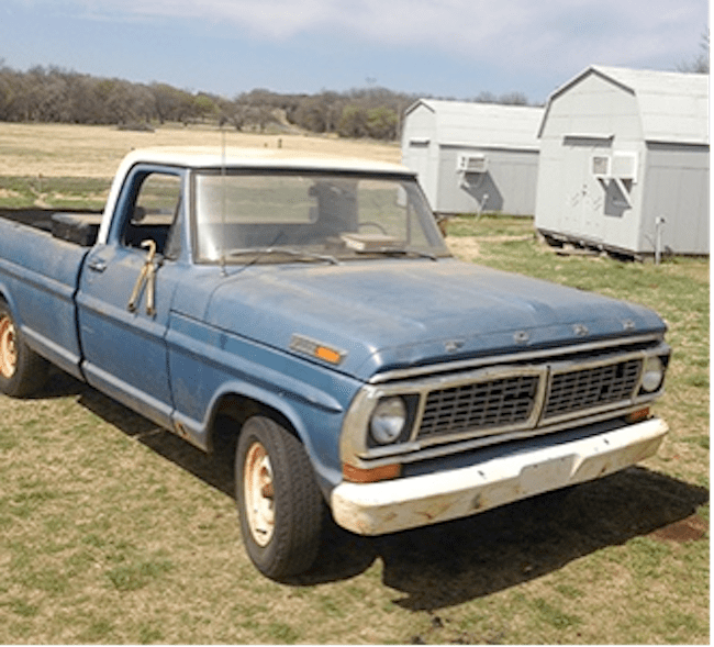 Starring Ol' Blue: Casting a 43-Year Old Ford Pickup Truck ...
