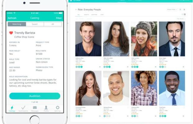 casting from your couch mobile casting app upcast aims to cut your time spent finding actors. Black Bedroom Furniture Sets. Home Design Ideas