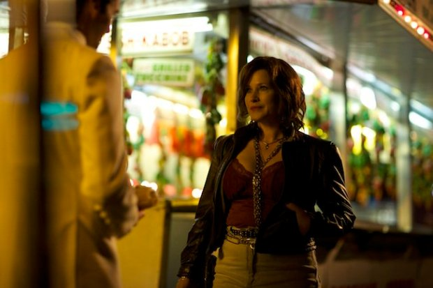 Patricia Arquette plays Rose, girlfriend of the mobster-idolizing protagonist Thomas, in The Wannabe.
