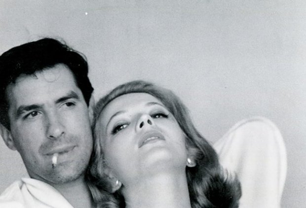 John Cassavetes with wife and frequent collaborator Gena Rowlands