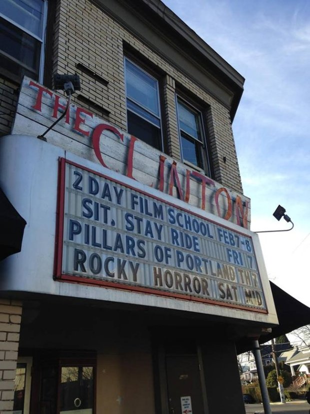 Portland, OR played host to renowned instructor Dov Simens in February 2015. — at The Clinton Street Theater.