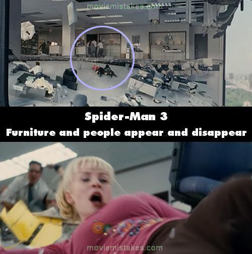 Spider Man 3 2007 Movie Mistake Picture ID 125129