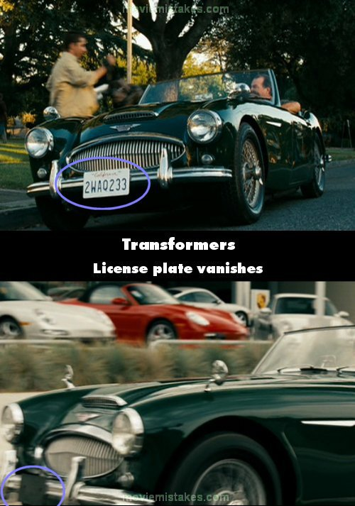 Transformers 2007 Movie Mistake Picture ID 148183