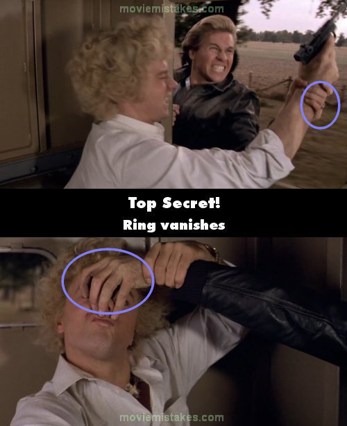 Top Secret 1984 Movie Mistake Picture Id 233397