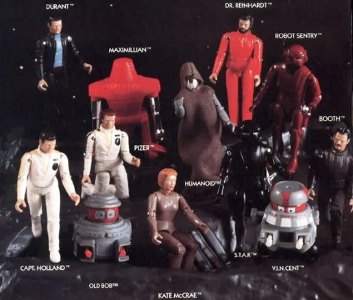 Mego's range of Black Hole figures looked great but didn't sell well.