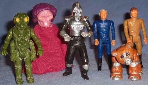 Mattel's Battlestar Galactica range