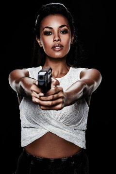 Nyx (Melanie Liburd) With her killer instincts, Nyx is the physical equal to the formidable crew mates. Having spent recent years in and out of prison, she's cautiously optimistic about finding a place to call home onboard the Raza.