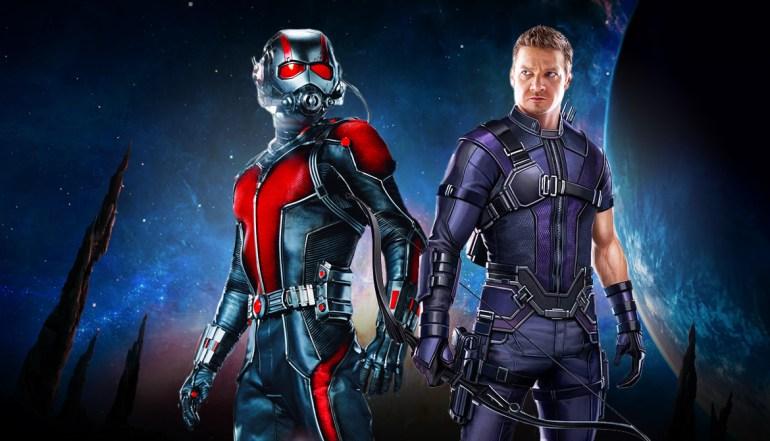 Ant-Man en Hawkeye