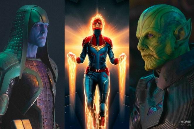De Kree, Captain Marvel en de Skrulls