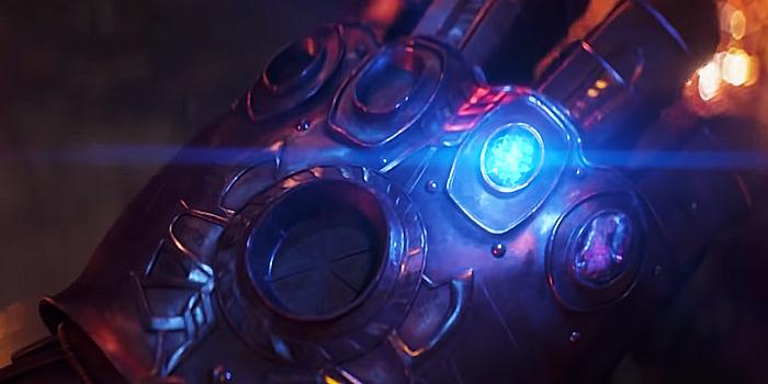 De Space Stone in de Infinity Gauntlet