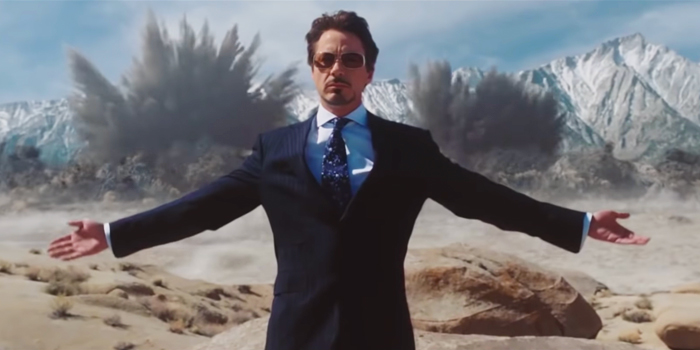 Robert Downey Jr. als Tony Stark in Iron Man