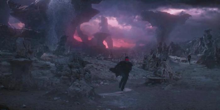 Star-Lord op de planeet Morag