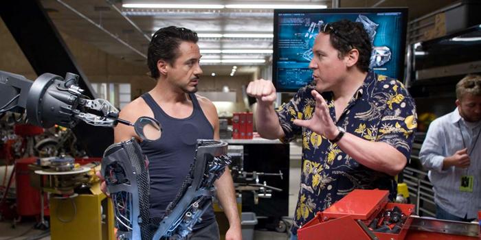 Robert Downey Jr. en Jon Favreau