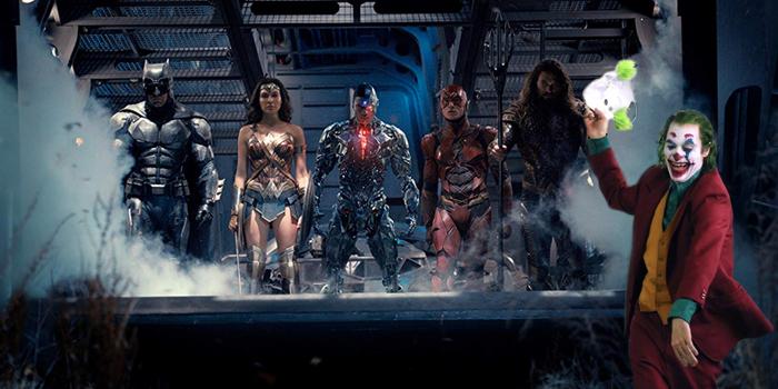 Justice League en Joker