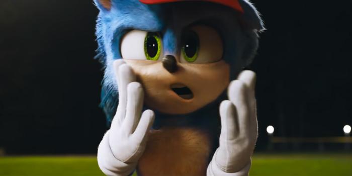 Sonic doet gek