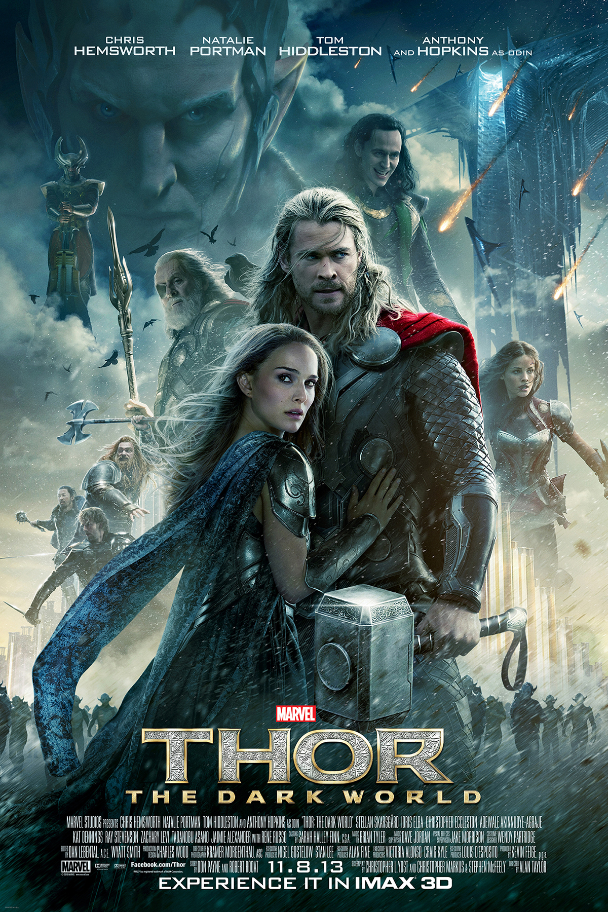 Download Thor: The Dark World (2013) {Hindi-English} 480p [350MB] || 720p [900MB] || 1080p [2GB]