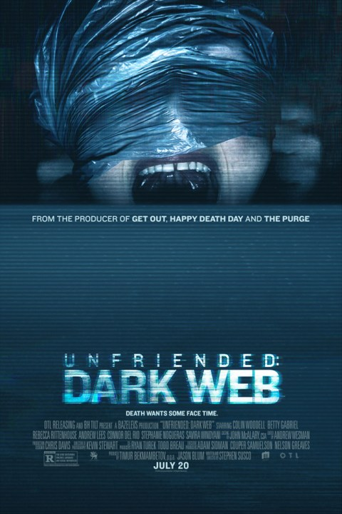Unfriended Dark Web (2018) Dual Audio (Hindi-English) 480p| 720p
