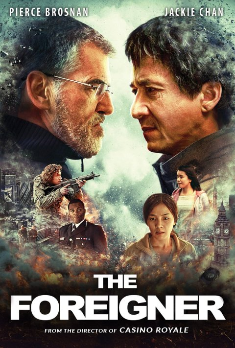 The Foreigner (2017) Dual Audio {Hindi-English} 480p | 720p | 1080p