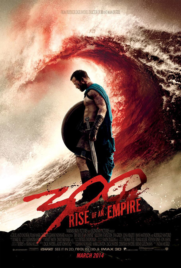 300 Rise Of An Empire 2014 Movie Trailer Release Date