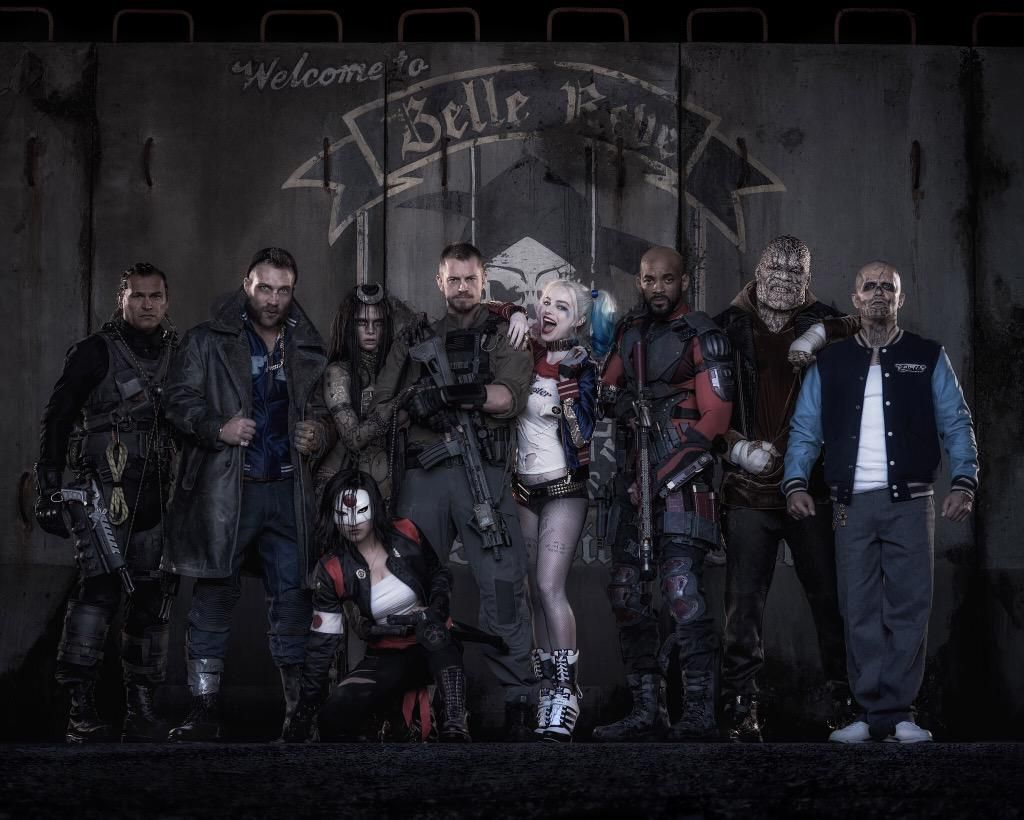Suicide Squad Harley Quinn And Deadshot Revealed