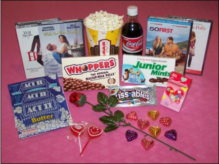 Valentines Movie Night Package With DVD