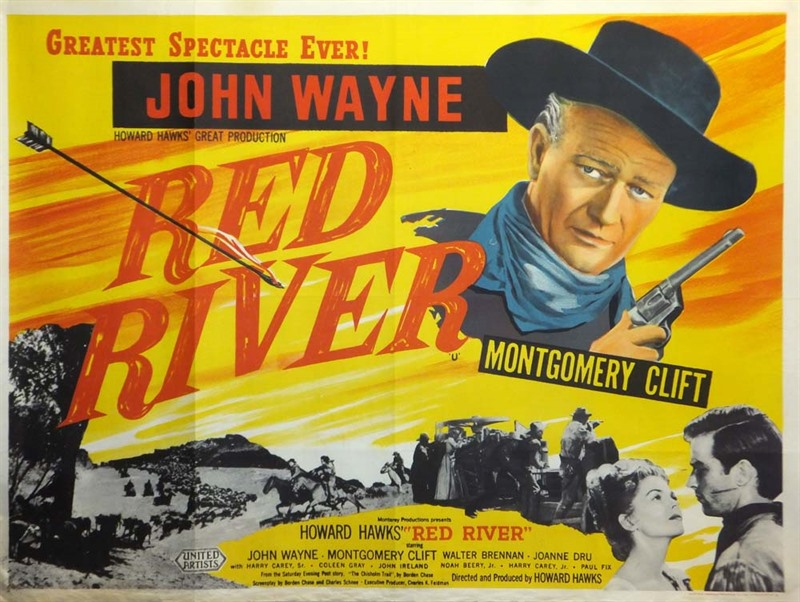 Image result for red river poster