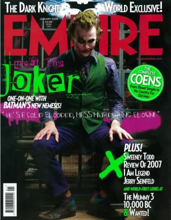 Heath Ledger als The Joker