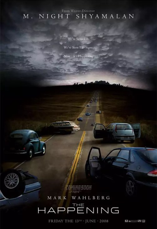 M. Night Shyamalan The Happening Poster