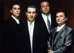De cast van Goodfellas met Robert De Niro, Ray Loitta, Joe Pesci & Paul Sorvino