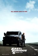 Fast Furious 6 - Dwayne Johnson poster