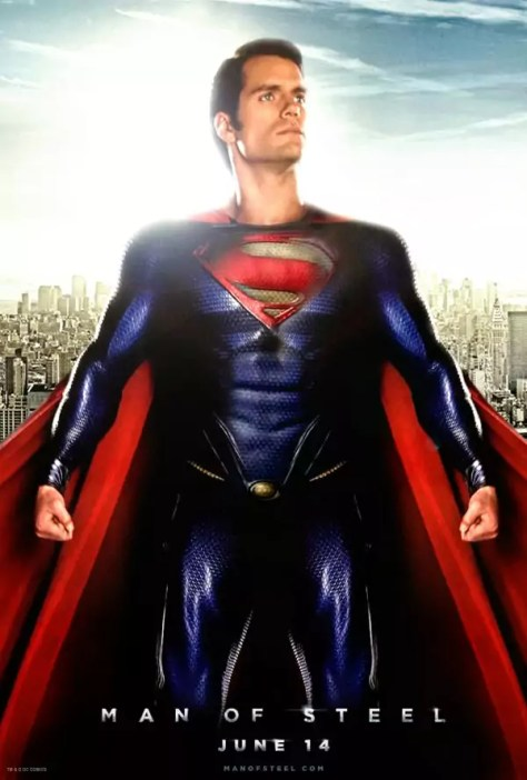 Henry Cavill als Superman in Man of Steel