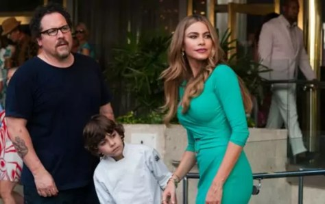 Jon Favreau en Sofia Vergara in Chef