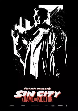 Sin City A Dame to Kill For - Marve poster