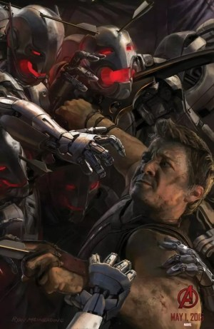 The Avengers 2: Age of Ultron – Hawkeye concept art poster