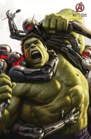 The Avengers 2: Age of Ultron – Hulk concept art poster
