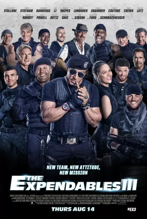 Laatste Expendables 3 poster