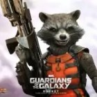 bradley cooper als rocket in the guardians of the galaxy