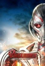 Spaanse poster van The Avengers 2: Age of Ultron met Ultron 2