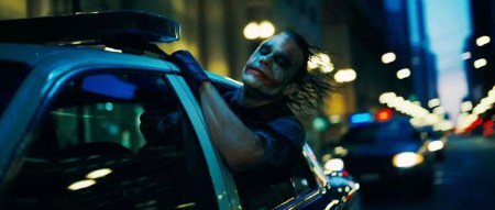 Heath Ledger als The Joker in The Dark Knight