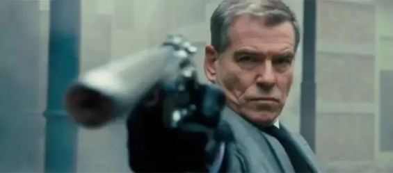 pierce brosnan in survivor