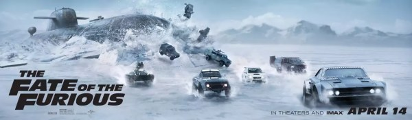 Fate of the Furious 8 banner
