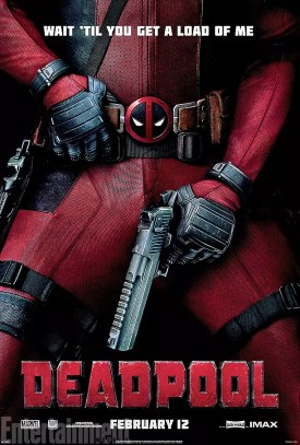 Deadpool Wait Load poster